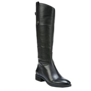 Sam Edelman Penny 2 Black Leather Riding Boot